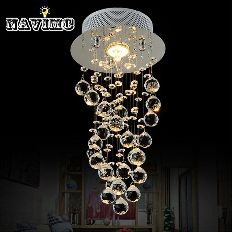 Modern K9 Crystal Chandelier Lighting Modern Pendant Lamp Cheap Preety Helix Popular High Quality Luminaire replica designer lighting popular hotsale cheap bestlite bl7 wall lamp 8065l