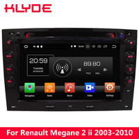 KLYDE 4G Android 8 Octa Core 4GB RAM 32GB ROM Car DVD Player Radio For Renault Megane 2 2003 2004 2005 2006 2007 2008 2009 2010