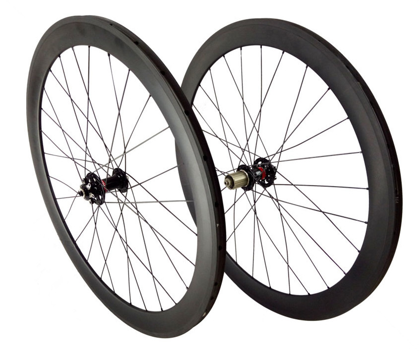 bicycle-carbon-wheels-700C-clincher-50mm-depth