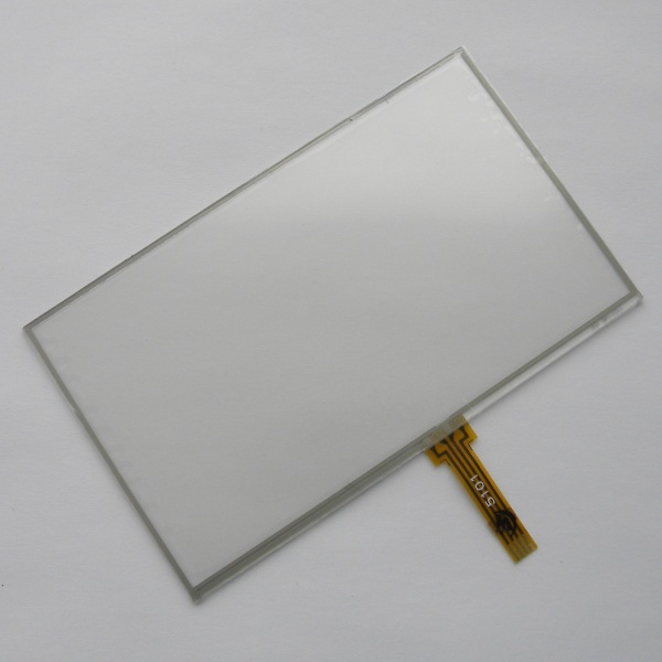 New 5 inch 4Wire Resistive Touch Panel Digitizer Screen For prestigio geovision 5250 Free shipping 8 inch touch screen for prestigio multipad wize 3408 4g panel digitizer multipad wize 3408 4g sensor replacement