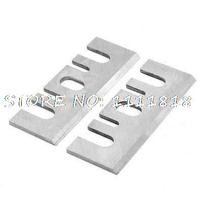 2 X Power Tool Replacement Part Electric Planer Blade For Hitachi F20A