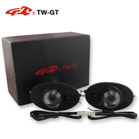 TW GT Car styling DIY 2.0 Inch foglight projector lens foglamp hid xenon h11 for Honda Accord CIVIC CR V City Jazz Fit