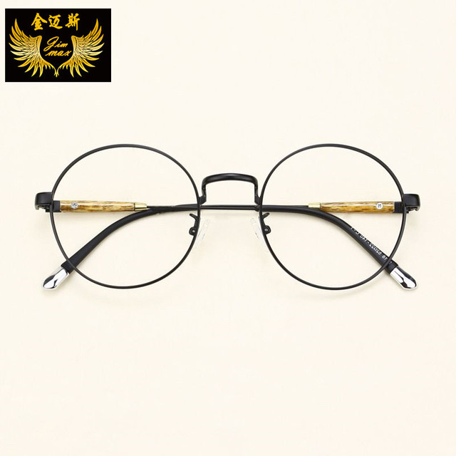 New Vintage TR90 Women's Eye Glasses 2016 Quality Fashion Style Round Retro Optical Frame Brand Design Eyewear For Women Oculos