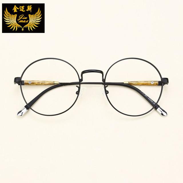 Nova TR90 Do Vintage Vidros do Olho 2016 Qualidade das Mulheres Moda Estilo Retro Rodada óculos Frame Ótico Da Marca de Óculos de Design Para As Mulheres Oculos