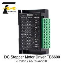 WaveTopSign 42/57/86 TB6600 деревообрабатывающий фрезерный станок Драйвер шагового двигателя 32 сегментов обновленная версия 4.0A 9-42VDC фрезерные наборы