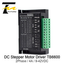 WaveTopSign 42/57/86 TB6600 Wood Router Machine Stepper Motor Driver 32 Segments Upgraded Version 4.0A 9-42VDC Milling Kits(China)