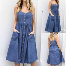 a3639806dc1fa High Quality Denim Swing Dress-Buy Cheap Denim Swing Dress lots from ...