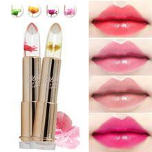 Fashion Magic Temperature Change Color Moisturizer Full Lips Balm labial Transparent Flower Pink Moisturizer Lipstick Z15