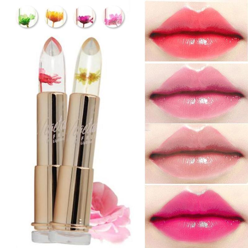 Fashion Magic Temperature Change Color Moisturizer Full Lips font b Balm b font labial Transparent font