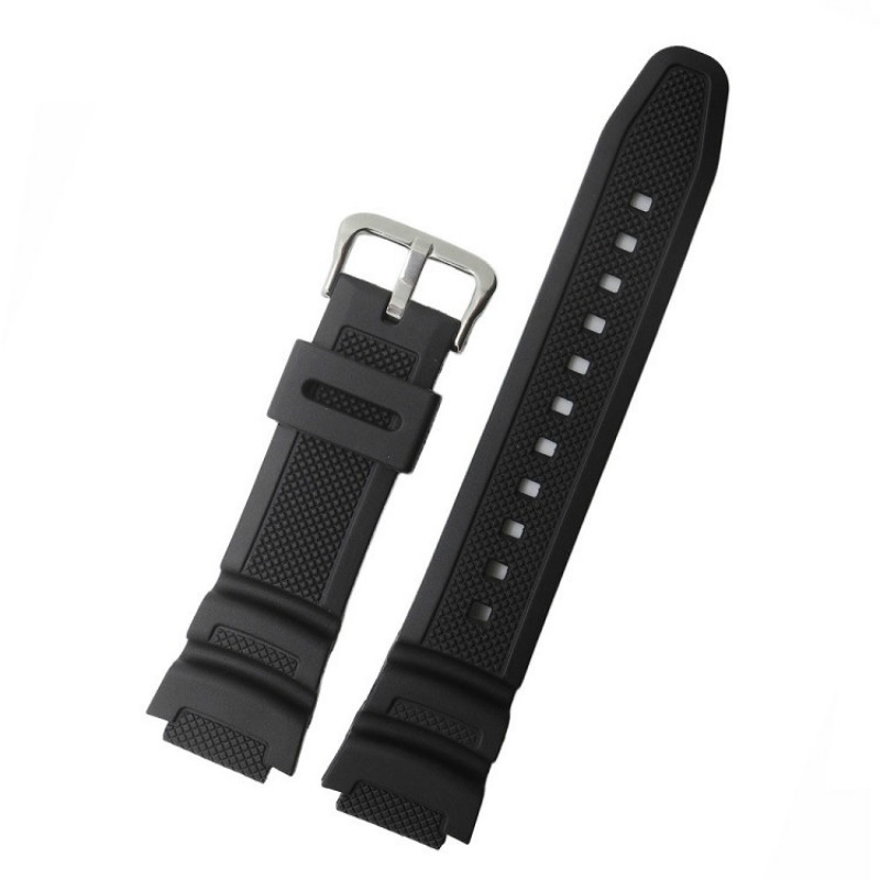 Watch Band Strap 18mm Replacement Accessories for Casio AE-1000w AQ-S810W/W-S200H Silicone Belt цены
