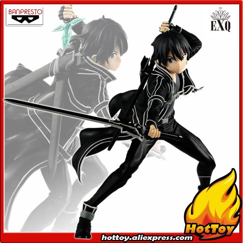 100 Original Banpresto EXQ SAO Collection Figure KIRITO from Sword Art Online