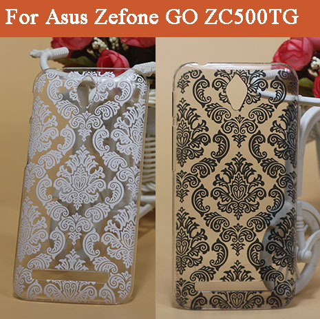 For Asus Zenfone GO ZC500TG Vintage Paisley Flower painting pc Hard  Plaste CASE For Asus Zenfone GO ZC500TG Skin Cover Case