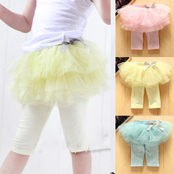 Kids-Baby-Girls-Skirts-Summer-Tutu-Skirt-Leggings-Party-Skirts-Bow-Candy-1