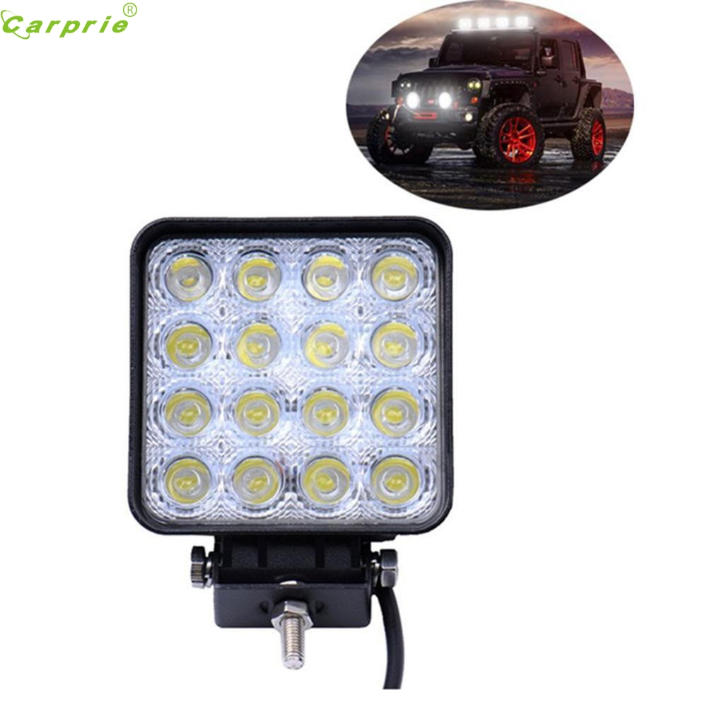 Auto  48W 16 LED Work Lamp Light Bar Spot Offroad Tractor Car Boat Truck 12V 24V feb15 кастрюля taller tr 1083
