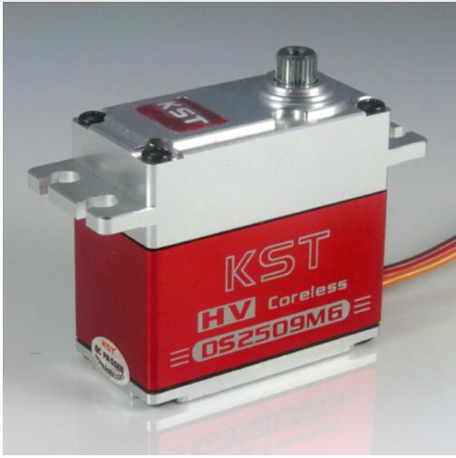 Free shipping KST HV DS2509MG Digital Coreless Full Metal Steering Servo For RC Car Truck