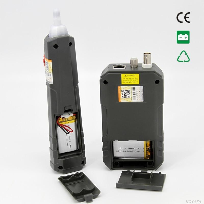 NOYAFA livraison gratuite NF-858C testeur de câble générateur de tonalité scanner RJ45 & BNC - 5