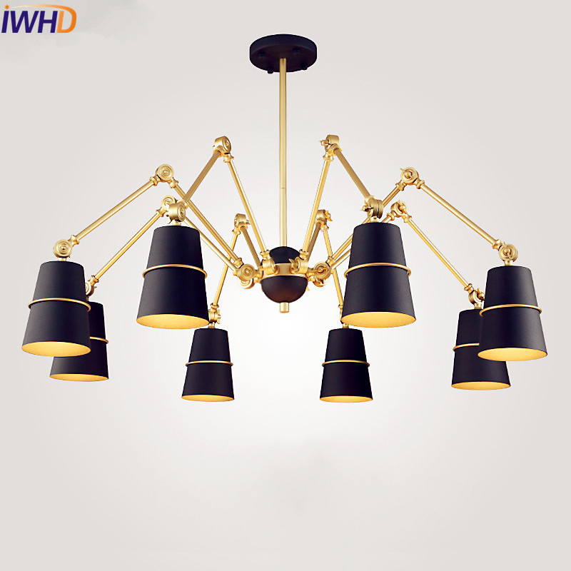 IWHD Nordic Modern Pendant Lamp Bedroom Hanglamp Luminaire LED Pendant Lights Fixtures H ...