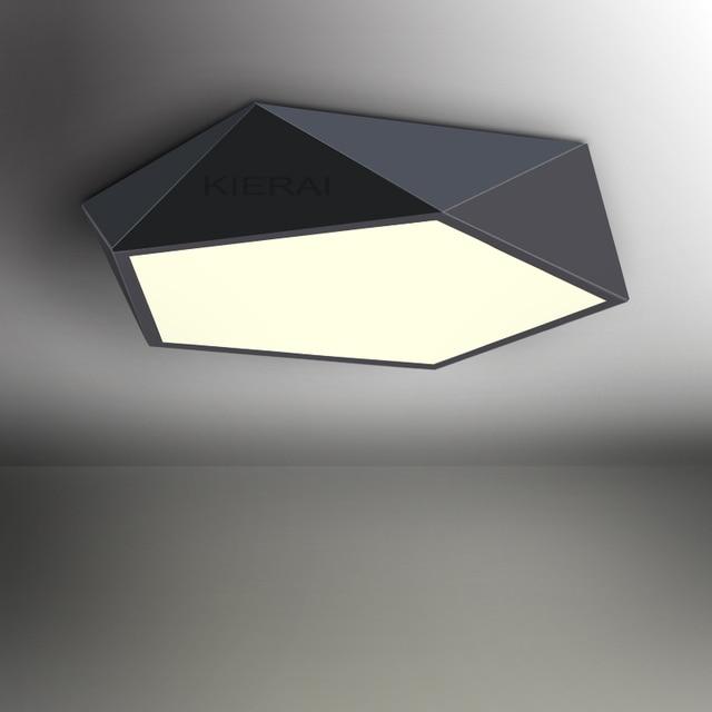 Pentagone moderne LED plafonnier salle manger chambre salle de s jour chambre lampe salle d tude.jpg 640x640 5 Élégant Lampe Sejour Kgit4