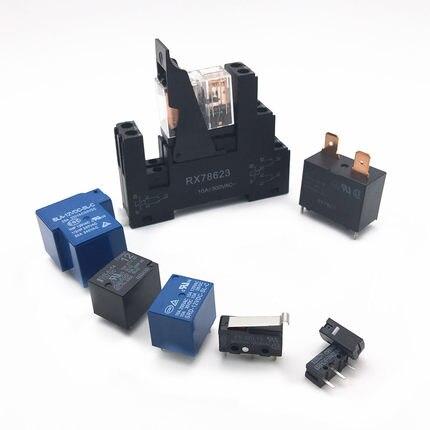 Generoso Micro Interruptor De Ratón De Relé D2fc-f-7n (10 M) Tecla Dedicada De Logitech Microsoft 12,8*5,8*10
