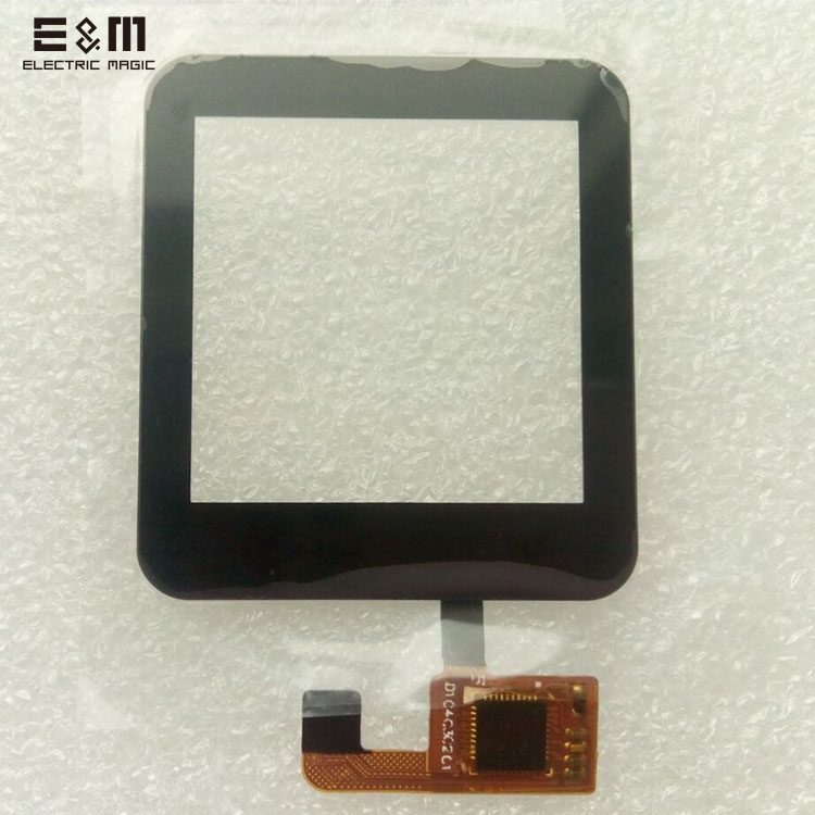 E&M 1.54 Inch 36*40mm Capacitive Touch Screen For Smart Watch TFT Display LCD Module Glass