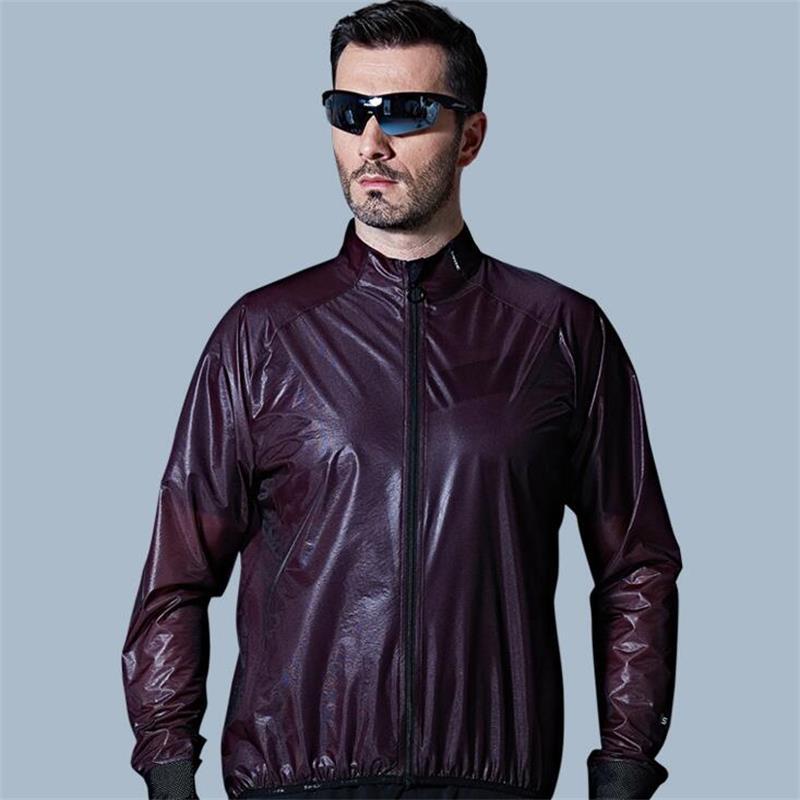 Santic MTB Cyklistický dres Vícefunkční bunda nepromokavá větruodolná TPU pláštěnka na kolo Cyklistické vybavení Oblečení Muži Ženy