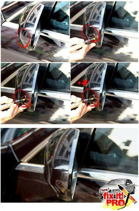 Car Painting Pen Fix It PRO Clear Coat Application For Car Scratch Repair Remover Filler Sealer Activated Clear