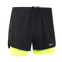 Quick Dry Running Shorts Workout GYM Fitness Shorts Training Shorts With Back Zip Pocket
