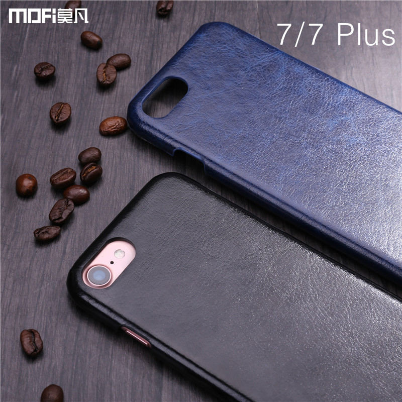 For iphone 7 case cover MOFi cover for iphone 7 plus case PU leather back cover for iphone 7 Pink retro vintage business 7 7Plus
