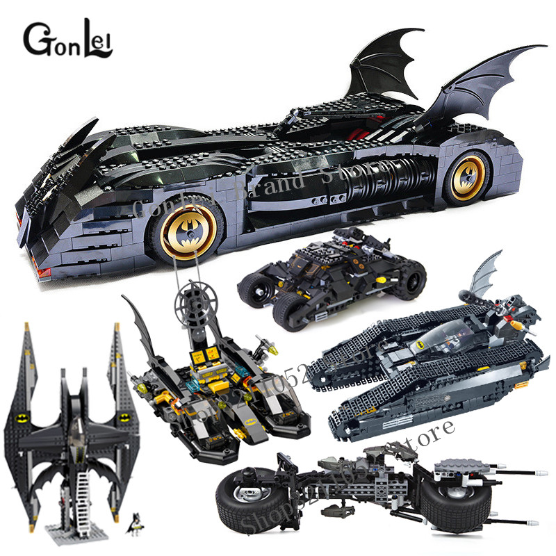 NEW Building Blocks 7116 The Tumbler BatMobile Fighter Tank Warship Compatible With Major Brands 7784 Super Heroes Batman Blocks