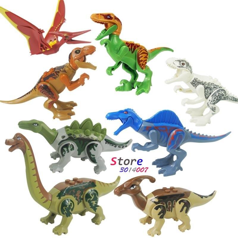 1/Set 77037 dinosaurio Jurásico Rex Dilophosaurus Velociraptor ...
