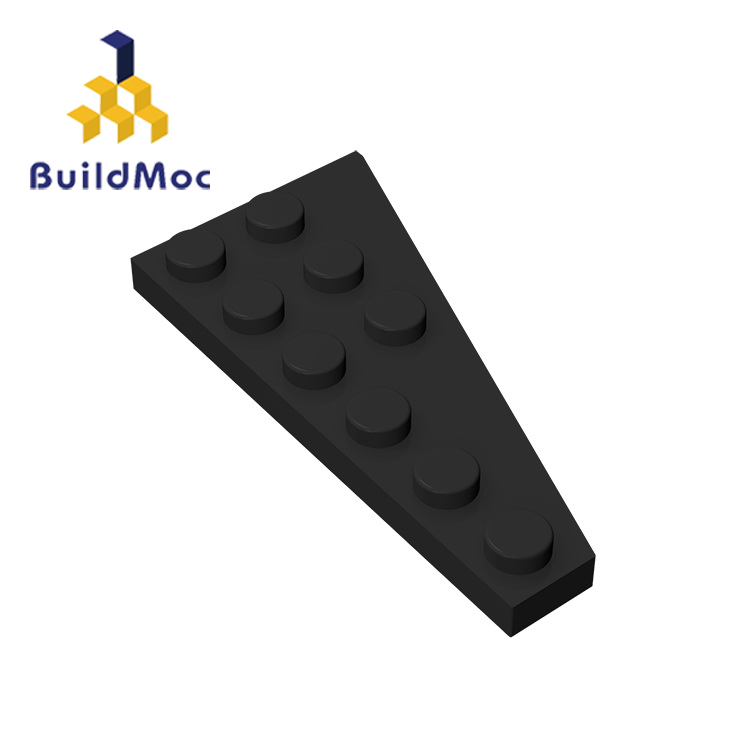 BuildMOC Compatible Assembles Particles 54384 3x6(Right) For Building Blocks Parts DIY LOGO Educational Gift Toys