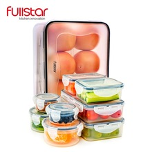 Fullstar Plastic Lunch box for kids kitchen accessories container food Microwave 9 PCS Cute bento vegetable tool