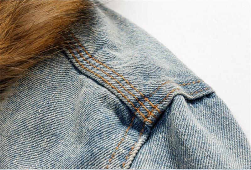 HTB1oU37Xli5K1Rjt hNq6zUDVXaV drop shipping 2018 new men jeans jacket and coats denim thick warm winter outwear S-4XL LBZ21