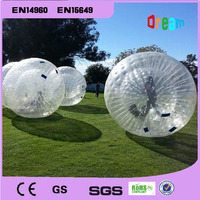 Free Shipping 2.5m PVC Inflatable Human Hamster Ball Body Zorb Ball Inflatable Ball Bubble Ball Giant Inflatable Outdoor Game