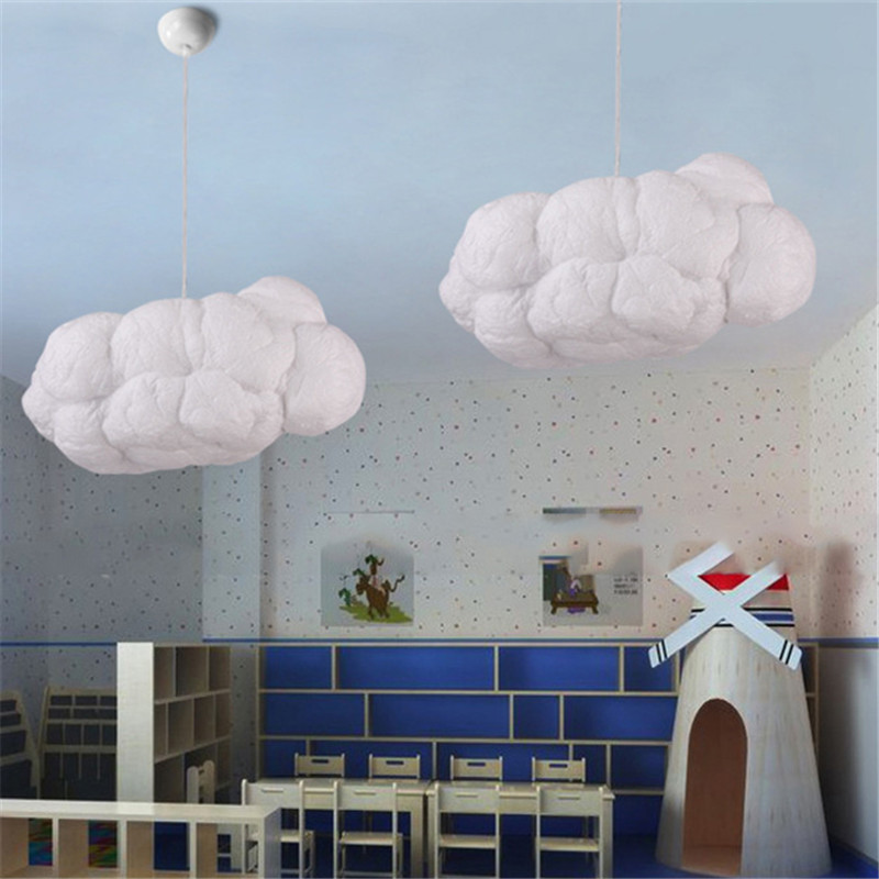 Colorful Lightning Cloud Pedant Light Modern Bar Restaurant Kindergarten Clothing Store Hotel Chandelier Creative Hanging Lamp 1unit column a4 double sided gallery hanging systems wire hanging picture hanging systems for agent hotel retail store