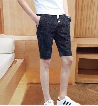 Summer New men's five-point Shorts Slim and Breathable