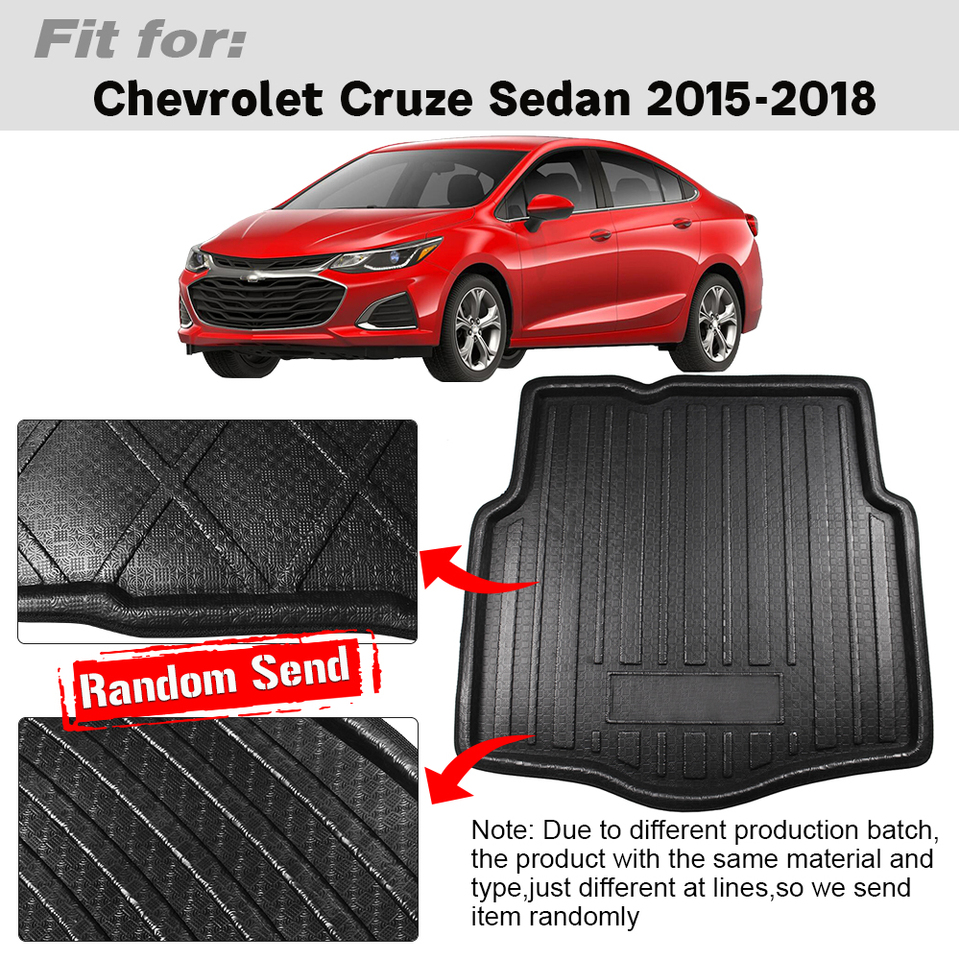 Car floor mat before /& after lining waterproof pad For Chevrolet Cruze 2015-2018