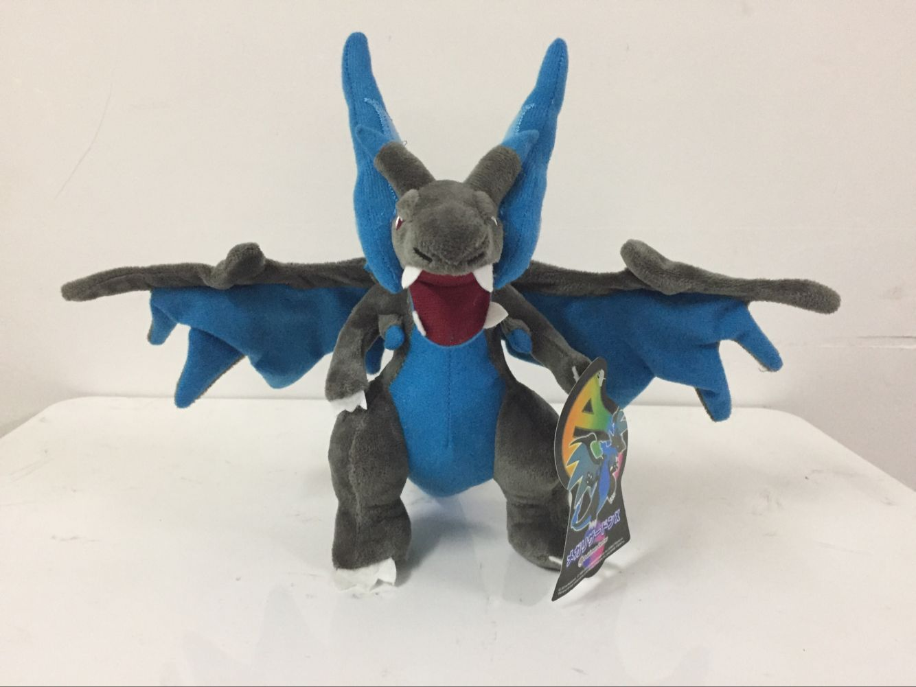 Wholesale 8Pcs lot 25CM Charizard Plush Dolls Mega XY Charizard Anime Figure Soft Stuffed Animals toys