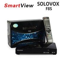 [Auténtica] SOLOVOX F8S DVB-S2 HD Receptor de Satélite Soporte USB Puerto WEB TV USB Wifi 3G Tiempo CCCAMD NEWCAMD Biss Clave pronóstico