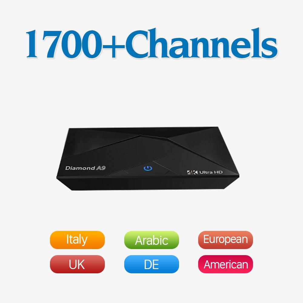 Caja Smart TV Box Android 6.0 Iptv Amlogic S912 Octa-core Suscripción IPTV Set T