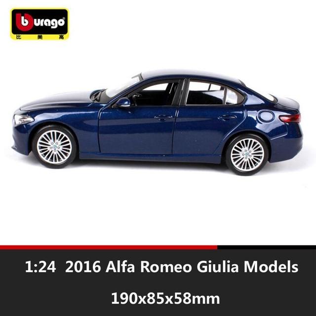 Scale Kids Miniature Alfa Romeo Gi Giulia Metal Diecast - Alfa romeo model