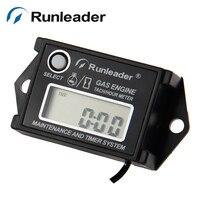 RL HM026A Digital tachometer hour meter for motorcycle jet ski outboard chainsaw motorboat ATV