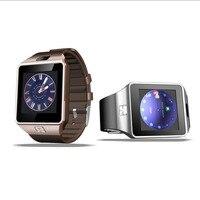 Kamera ile sıcak Satış dz09 Akıllı Izle Bluetooth Kol Desteği Çağrı Hatırlatma SIM Kart Android ios Telefonları için Smartwatch