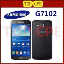 Original Samsung Grand 2 G7102 Cell Phone 8MP Camera GPS WIFI Dual SIM Quad-core Refurbished Mobile Phone Free Shipping