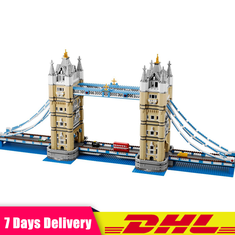 LEPIN IN STOCK Free Shipping 17004 4295pcs London bridge Model Building Kits Bricks Toys Compatible LegoINGlys 10214 Gifts free shipping 10pcs lf412cn dip8 in stock