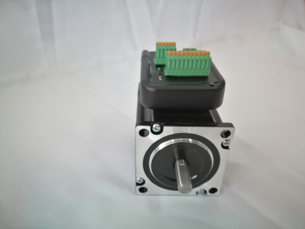 Nema23 closed-loop stepper servo motor set Motor length 87.5mm with encoder and drive high torque 1.2N.m high speed original 95%new for hp laserjet 4345 m4345mfp 4345 fuser assembly fuser unit rm1 1044 220v