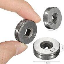 0,023 ''-0,030'' рулонные части для стального диаметра Mig сварочный провод подающий ролик части 0,6-0,8 V комплекты колес ролик Mig сварка