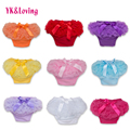 Baby Cotton Bloomers Diaper Cover Newborn Cute Tutu Ruffled Panties 7 Colors Baby Girls Lace Crumple 2015 Hot Retail Baby Shorts