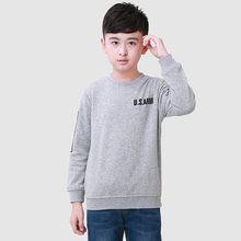 Solid Children T Shirts 2015 Summer Fashion Cotton Boy Tees Full Sleeve New Brand Children Tops Regular Clothing Solid T Shirts