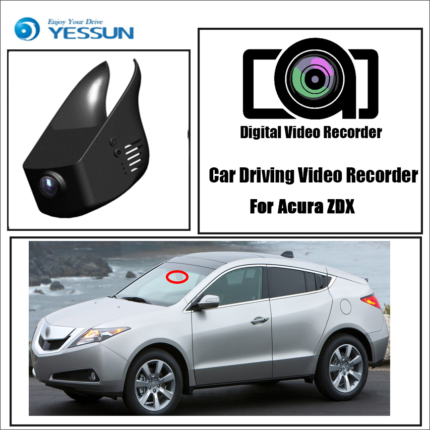 YESSUN For Acura ZDX Car Driving Video Recorder DVR Mini